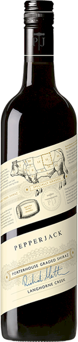 Pepperjack Langhorne Creek Porterhouse Graded Shiraz