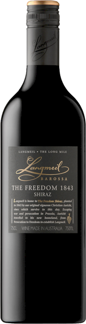 Langmeil Freedom 1843 Shiraz